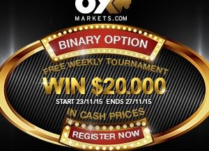 OX Markets Broker – No Deposit Weekly Contest With Big Prizes!