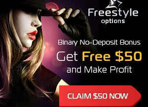 Freestyle Options Broker – 50$ No Deposit Trading Bonus and 50$ Minimum Deposit!