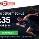 FXGiants Review – 35$ Forex No Deposit Bonus