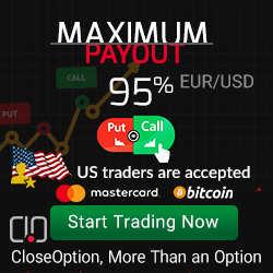 Close Option Broker – 20$ Binary Options No Deposit Bonus!
