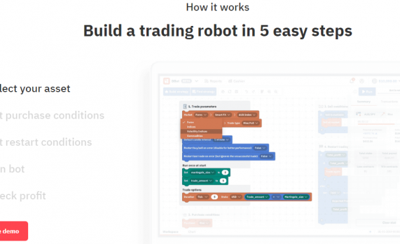 No Deposit Binary Options Trading Bot by Deriv Broker – DBot
